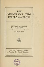 Cover of: The immigrant tide