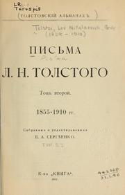 Cover of: Pisma L.N. Tolstogo: 1848-1910 g g.