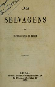 Cover of: Os selvagens