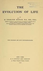 Cover of: The evolution of life