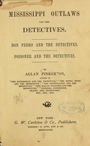 Cover of: Mississippi outlaws and the detectives