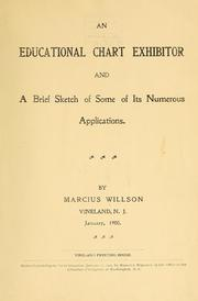 Cover of: An educational chart exhibitor and a brief sketch of some of its numerous applications