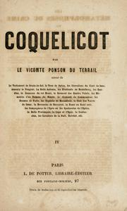 Cover of: Coquelicot