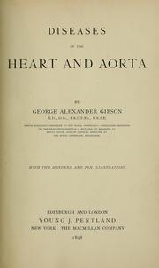 Cover of: Diseases of the heart and aorta