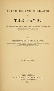 Cover of: Injuries and diseases of the jaws