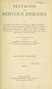 Cover of: Text-book on nervous diseases
