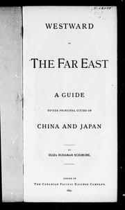 Cover of: Westward to the Far East