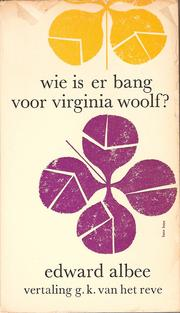 Cover of: Wie is er bang voor Virginia Woolf?