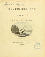Cover of: Arctic zoology ...