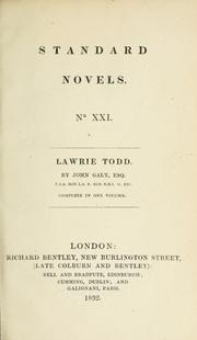 Cover of: Lawrie Todd