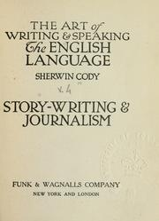 Cover of: The art of writing & speaking the English language