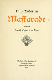 Cover of: Maskarade
