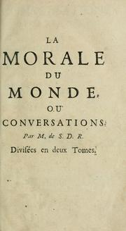 Cover of: Conversations morales ...