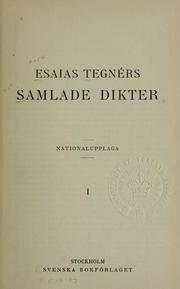 Cover of: Samlade dikter