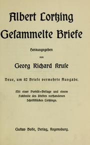 Cover of: Gesammelte Briefe