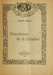 Cover of: Canciones de la soledad