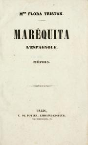 Cover of: Maréquita, l'espangnole