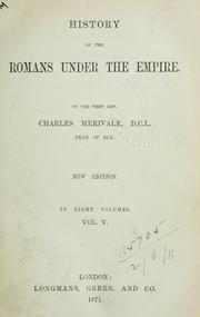 Cover of: History of the Romans under the Empire