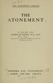 Cover of: The Atonement