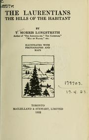 Cover of: The Laurentians