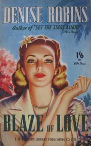Cover of: Blaze of Love