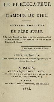 Cover of: Le prédicateur de l'amour de Dieu