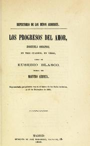Cover of: Los progresos del amor