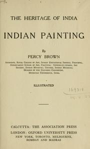 Cover of: Indian painting