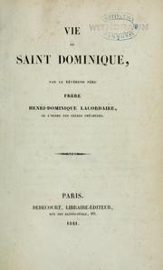 Cover of: Vie de Saint Dominique