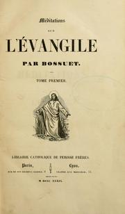 Cover of: Méditations sur l'Évangile