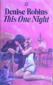 Cover of: This One Night