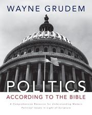 Cover of: Politics according to the Bible