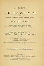 Cover of: A journal of the plague year