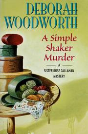 Cover of: A simple Shaker murder