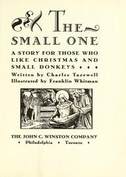 Cover of: The small one