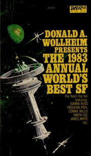 Cover of: The 1983 annual world's best SF