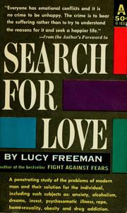 Cover of: Search for love
