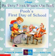 Cover of: Pooh's first day of school