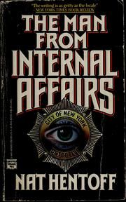 Cover of: The man from Internal Affairs