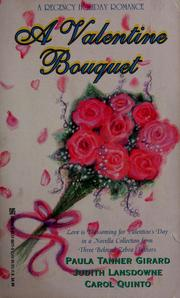 Cover of: A valentine bouquet