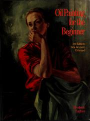 Cover of: Oil painting for the beginner