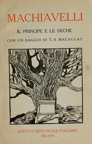 Cover of: Il principe e le deche