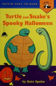 Cover of: Turtle and Snake's spooky Halloween