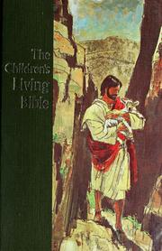Cover of: The children's living Bible; paraphrased