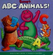 Cover of: Barney's ABC animals!