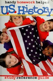 Cover of: U.S. history