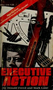 Cover of: Executive action
