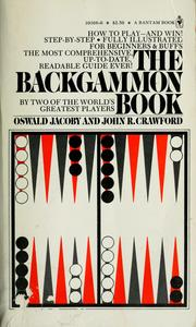 Cover of: The backgammon book