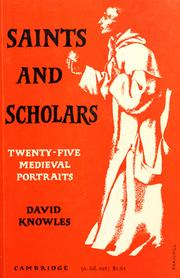 Cover of: Saints and scholars