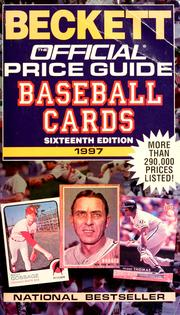 Cover of: The official 1997 price guide to baseball cards